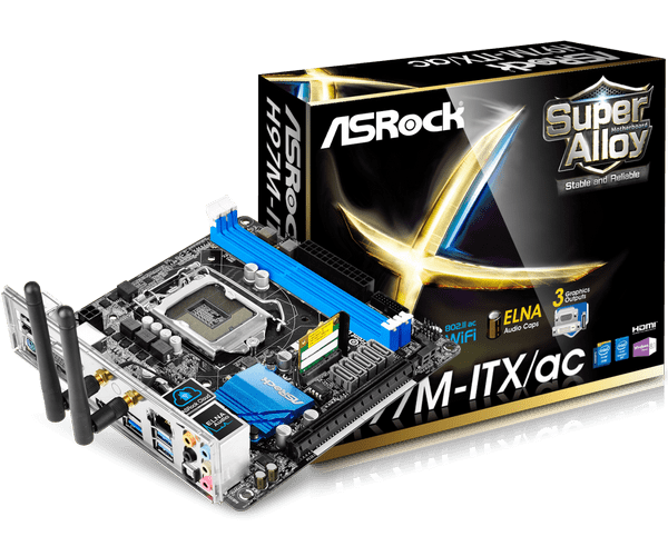 ASRock H97M-ITX/ac Intel Graphics Driver for Windows 10