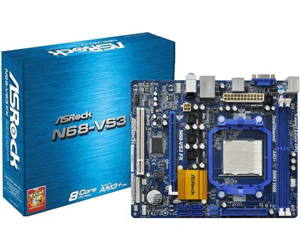 ASROCK N68-VS3 FX XFAST RAM WINDOWS XP DRIVER