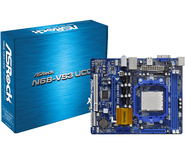 Asrock N68-VS3 UCC New