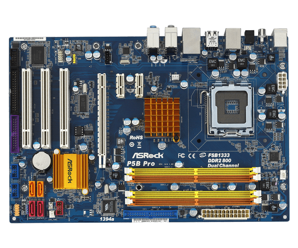 Asrock P5B-DE Windows 8 X64