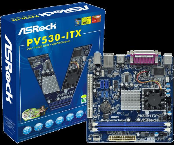 DRIVER UPDATE: ASROCK PV530 VIA 4-IN-1