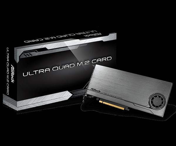 ASRock > ULTRA QUAD M 2 CARD