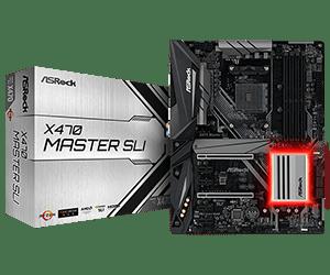 ASRock > X470 Master SLI