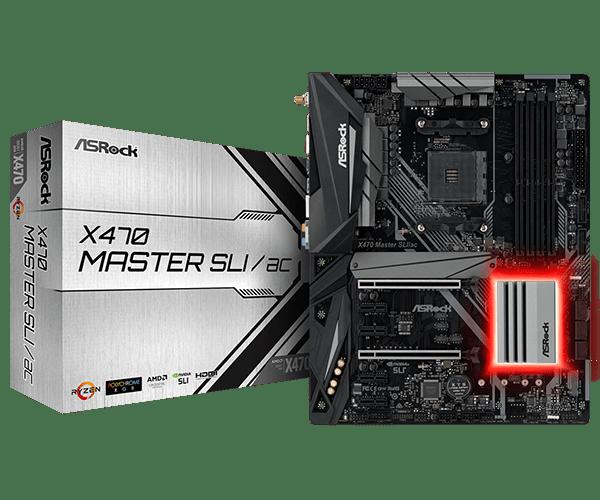 ASRock > X470 Master SLI/ac