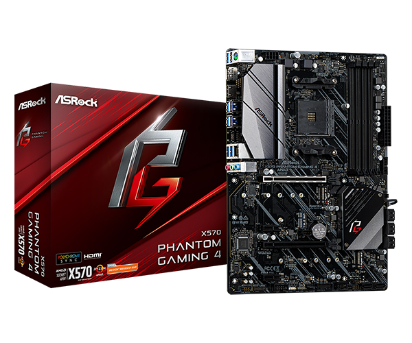 ASRock > X570 Phantom Gaming 4