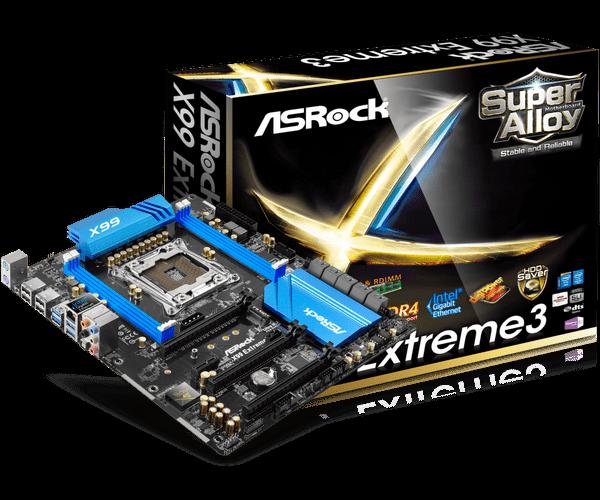 ASRock > X99 Extreme3
