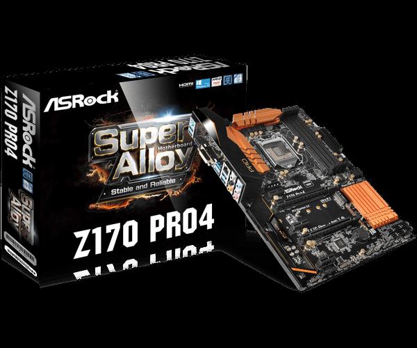 ASRock > Z170 Pro4