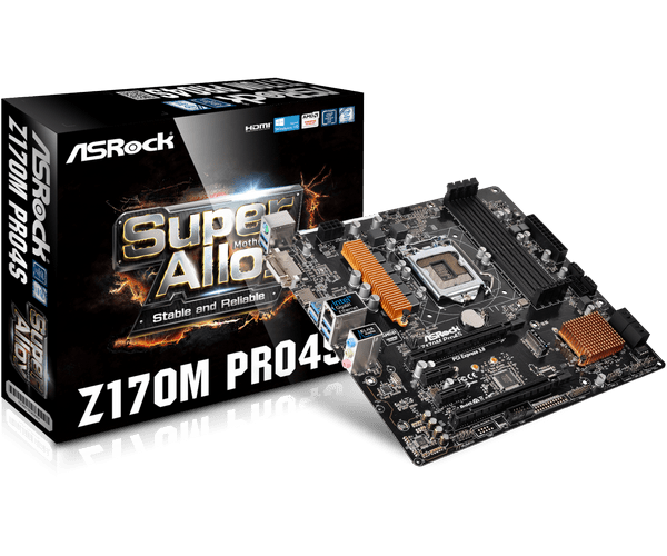 Download Driver: ASRock Z170M Pro4S