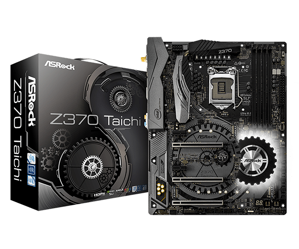 ASRock > Z370 Taichi-best otherboard for core  i7-8700k.