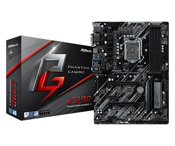 ASRock > Z390 Phantom Gaming 4