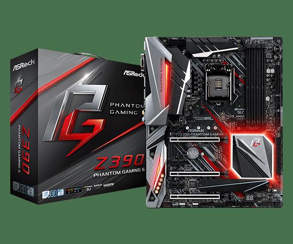 ASRock > Z390 Phantom Gaming 6