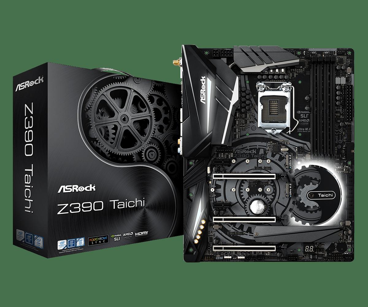 ASRock Z390 Taichi - Tốt hơn, mạnh mẽ hơn