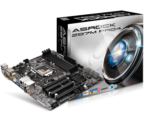 BIOS Chip:ASROCK Z87m Pro4