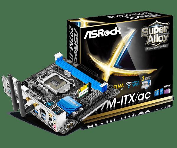 ASROCK Z97M-ITXAC INTEL SMART CONNECT DOWNLOAD DRIVERS