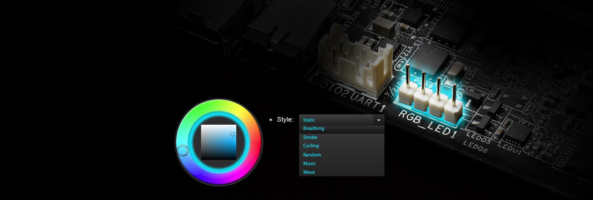 Asrock Deskmini Gtx Rx Z370 Breathing Led Circuit Diagram Rgb Ermglicht Es Nutzern Eine Leiste Anzuschlieen Und So Auf Einfache Weise Einen Einzigartigen Pc Stil Zu Realisieren