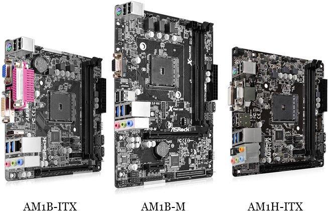 ASRock Motherboard Micro AM1B-M