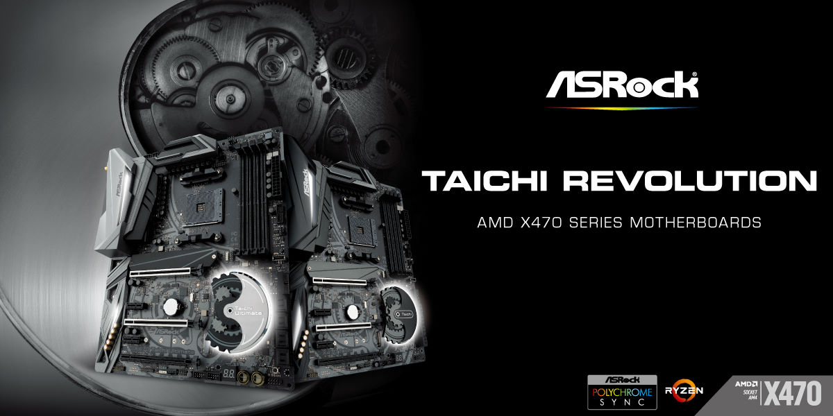 20180413-1 ASRock Announces Full-Featured AMD X470 Motherboard Series