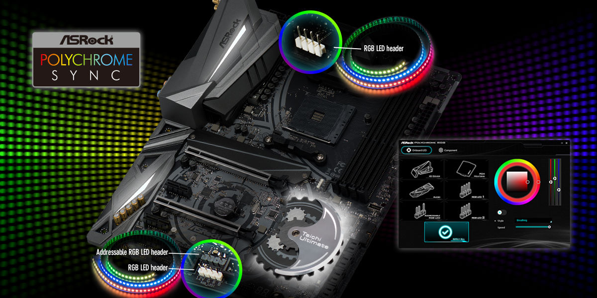 20180413-2 ASRock Announces Full-Featured AMD X470 Motherboard Series